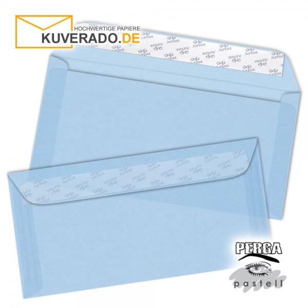 Artoz transparente Briefumschläge frost-blau 114x224 mm
