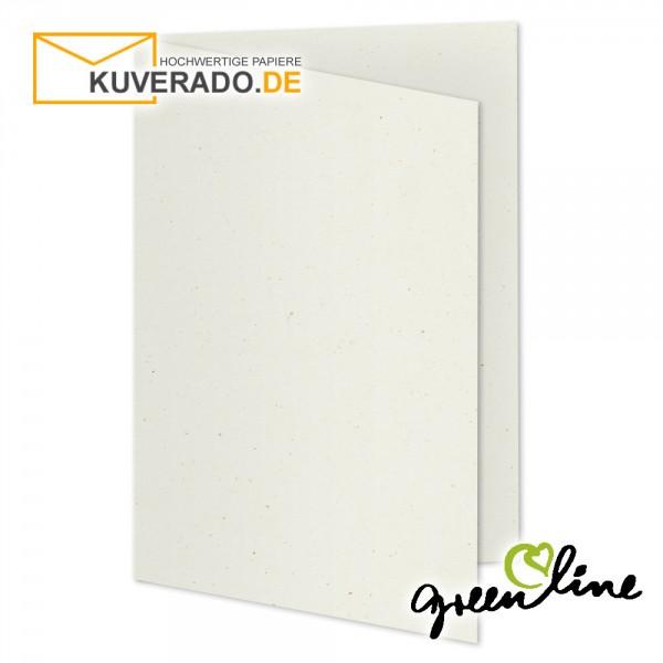 ARTOZ Greenline | Recycling Faltkarten in tortilla-beige DIN A5