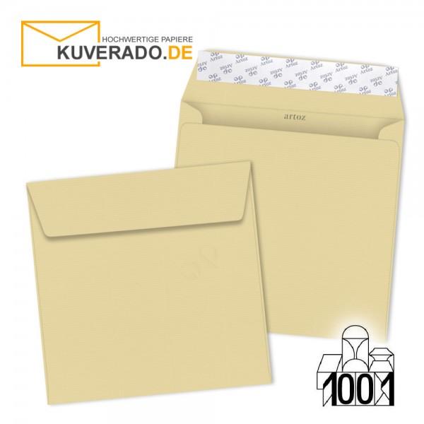 Artoz 1001 Briefumschläge baileys-beige quadratisch 160x160 mm