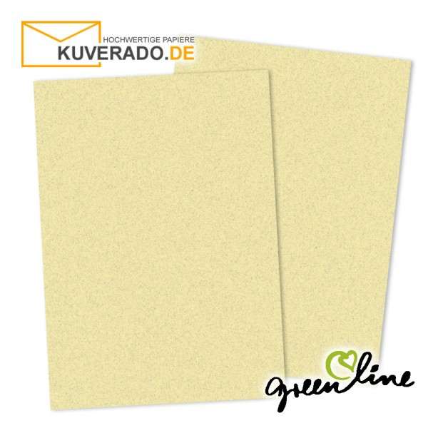 ARTOZ Greenline pastell | Recycling Briefpapier in misty-yellow DIN A4