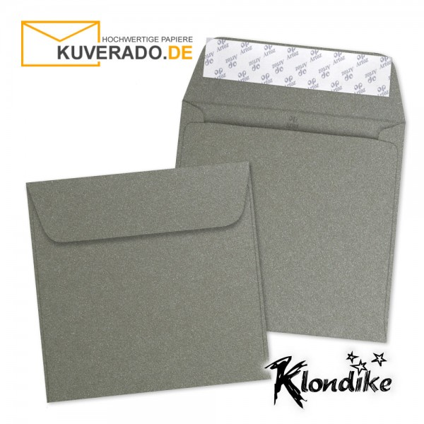 Artoz Klondike Briefumschlag in turmalin-metallic quadratisch