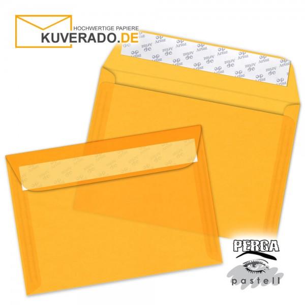 Artoz transparente Briefumschläge orange DIN B6