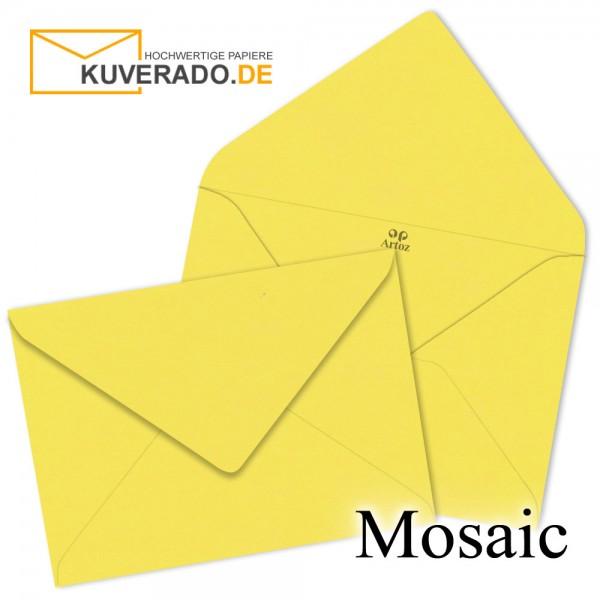 Artoz Mosaic gelbe Briefumschläge DIN B6