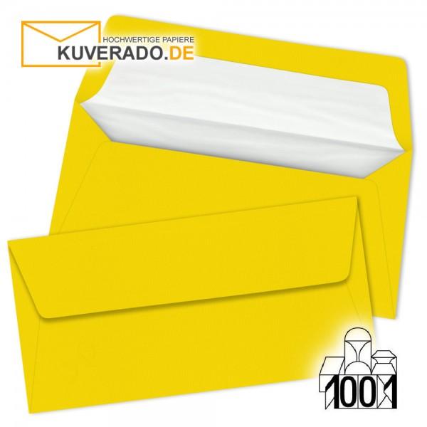 Artoz 1001 Briefumschläge sonnengelb DIN lang