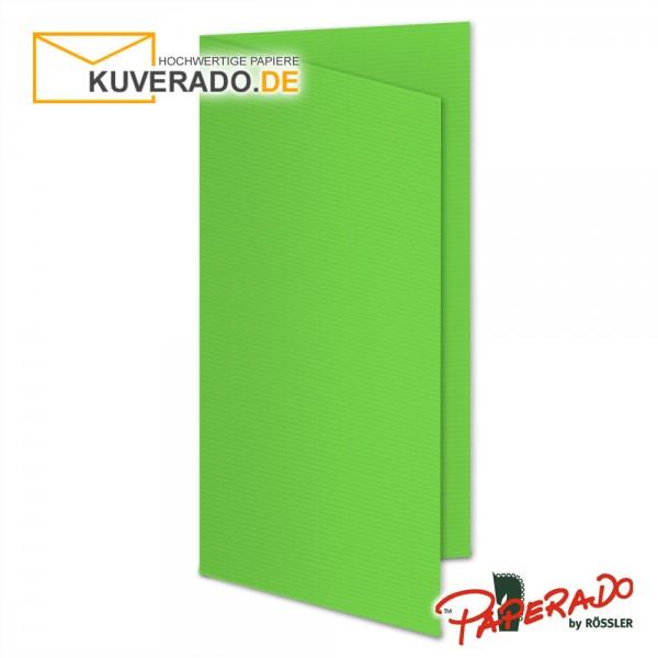 Paperado Faltarten in apfelgrün DIN lang Hochformat