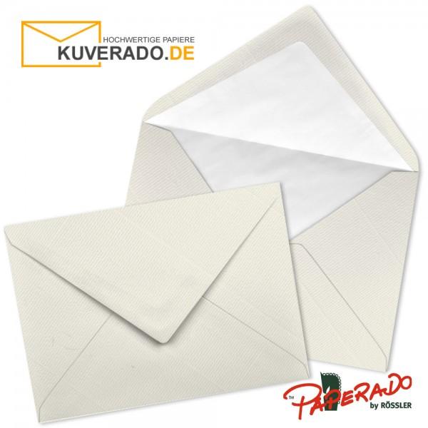Paperado Briefumschläge in ivory beige DIN C7