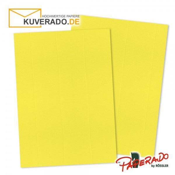 Paperado Briefkarton in soleilgelb DIN A4 220 g/qm