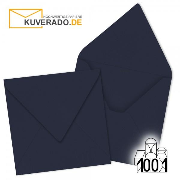 Artoz 1001 Briefumschläge navy-blau 135x135 mm