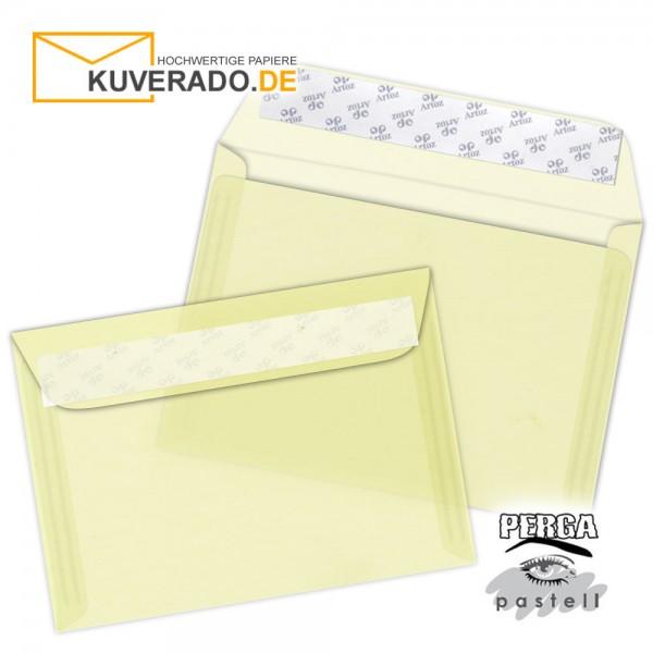 Artoz transparente Briefumschläge vanille DIN C6