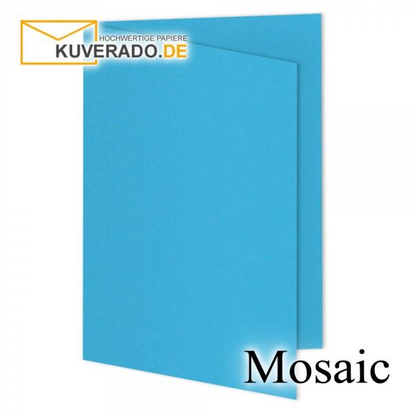Artoz Mosaic blaue Doppelkarten DIN B6