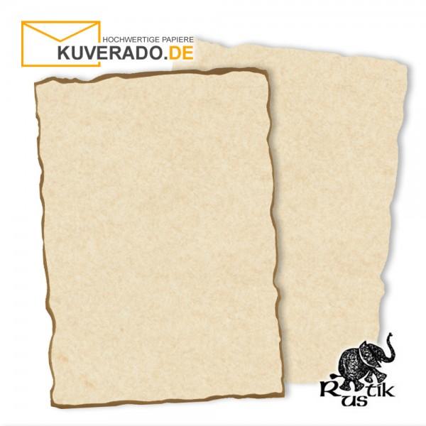 Artoz Rustik - Urkundenpapier DIN A4 naturweiß marmoriert