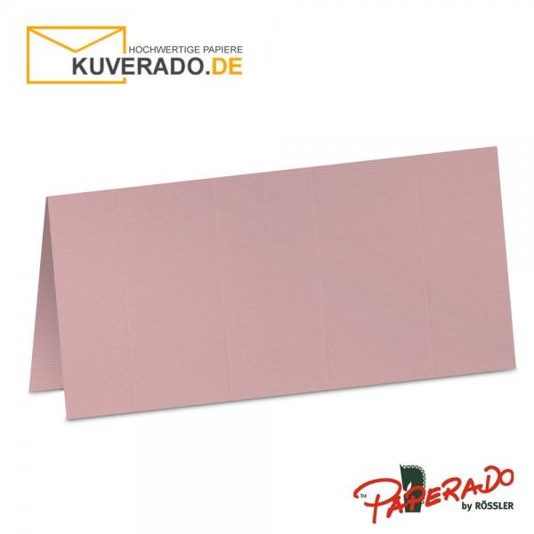 Paperado Tischkarten in rose
