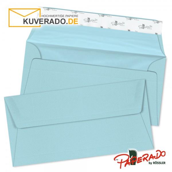 Paperado Briefumschläge aqua DIN lang