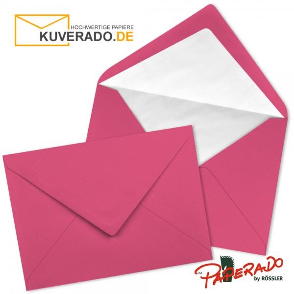 Paperado Briefumschläge in fuchsia rosa 157x225 mm