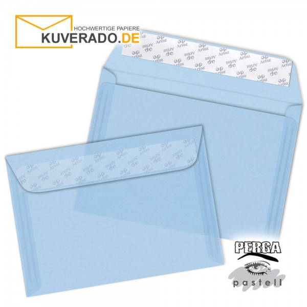 Artoz transparente Briefumschläge frost-blau DIN C5