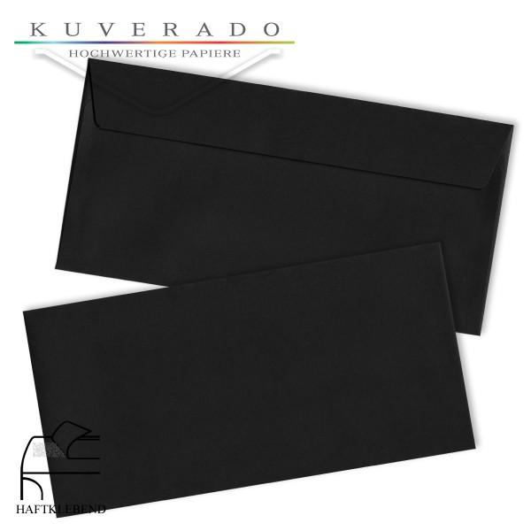 schwarz Briefumschläge DIN C6/5