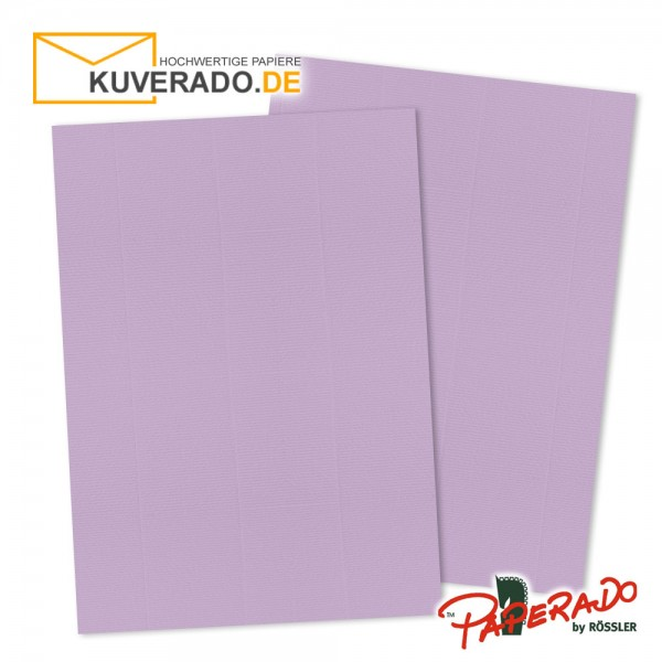 Paperado Briefkarton in orchidee lila DIN A4 220 g/qm