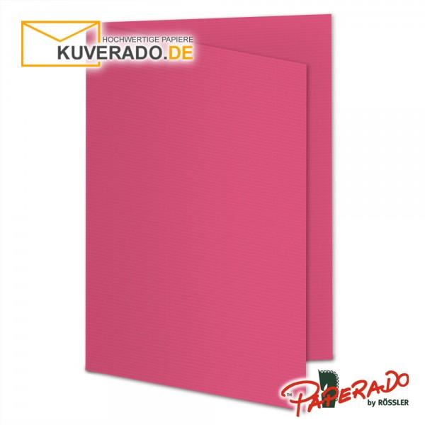 Paperado Karten in fuchsia rosa DIN A5