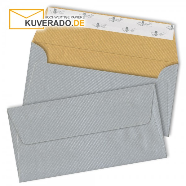 RÖSSLER Finer Paper | Briefumschläge in silber/gold DIN lang