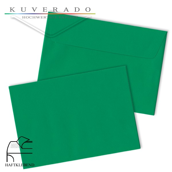 grüne Briefumschläge DIN C4