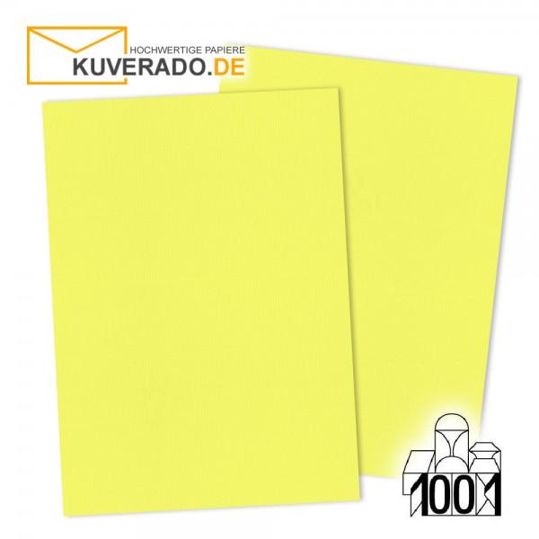 Artoz 1001 Briefkarton gelb DIN A4 mit Wasserzeichen