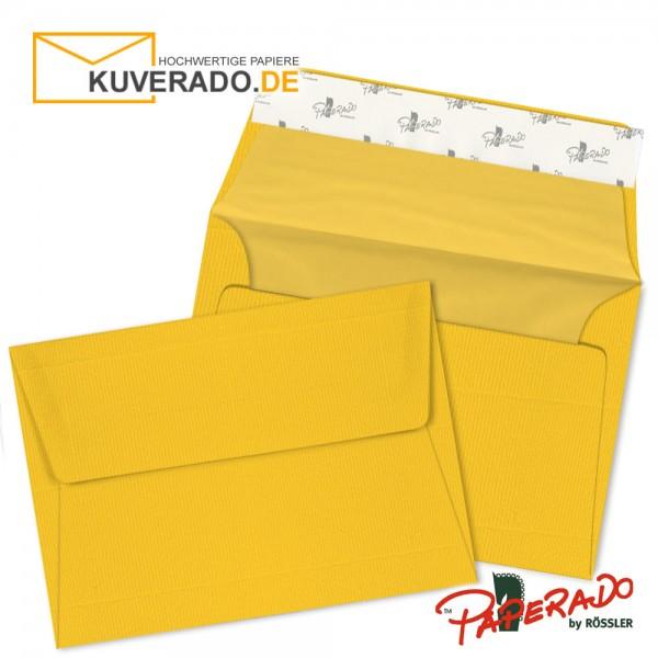 Paperado Briefumschläge ocker DIN B6