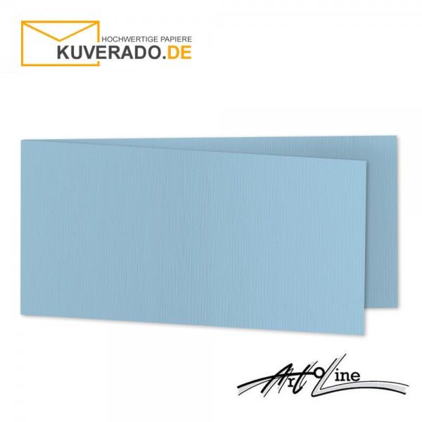 Artoz Artoline Karten/Doppelkarten in sky-blau DIN lang