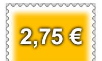 Briefmarke Maxibrief