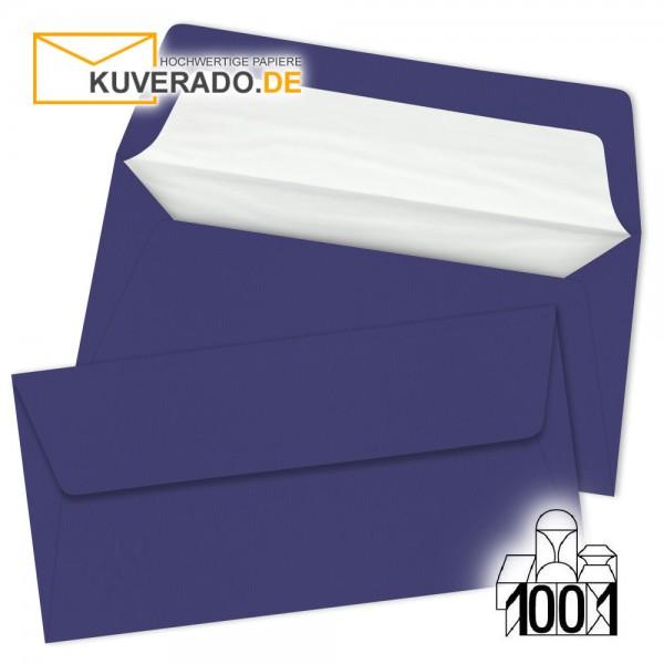 Artoz 1001 Briefumschläge indigo blau DIN lang