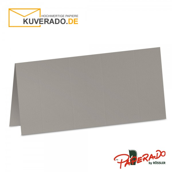 Paperado Tischkarten in taupe-grau