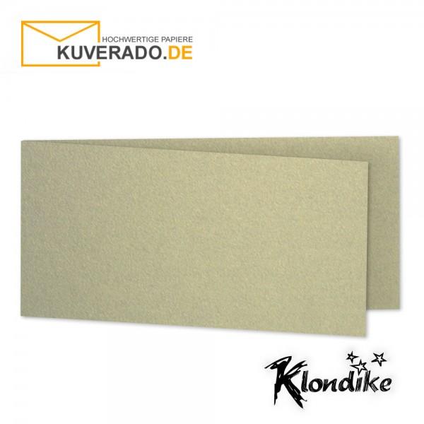 Artoz Klondike Karten in blattgold-metallic DIN lang