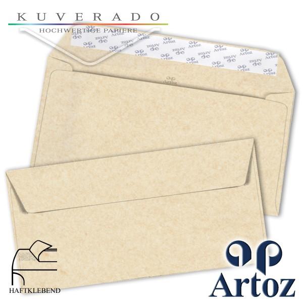Artoz Rustik marmorierte Briefumschläge weiß DIN C6/5