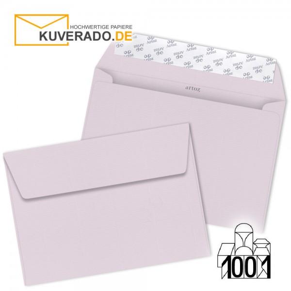 Artoz 1001 Briefumschläge quarzrosa DIN C6