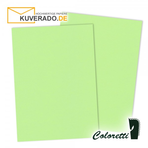 Grünes Briefpapier in peppermint 80 g/qm von Coloretti