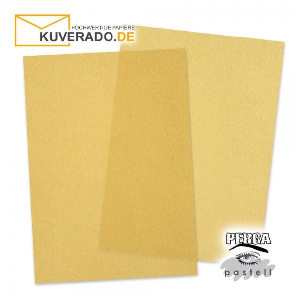 Artoz transparentes Briefpapier gold DIN A4