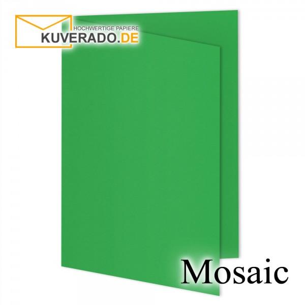 Artoz Mosaic apfelgrün Doppelkarten DIN A6