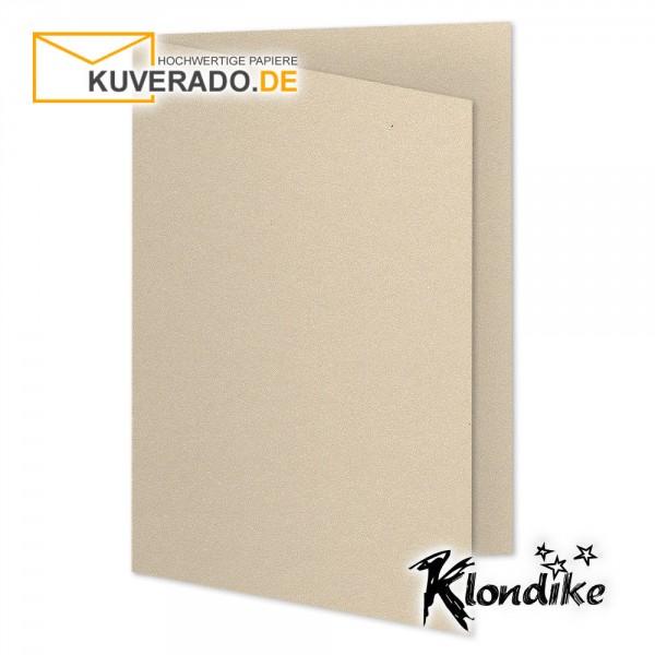 Artoz Klondike Karten in titan-metallic DIN B6