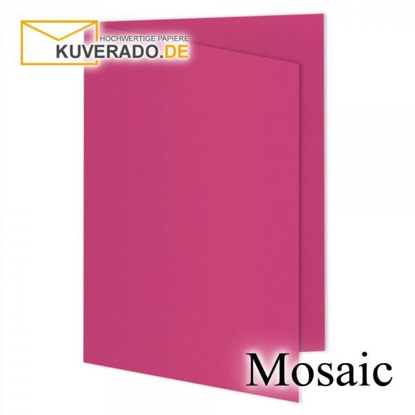 Artoz Mosaic neon pink Doppelkarten DIN A6