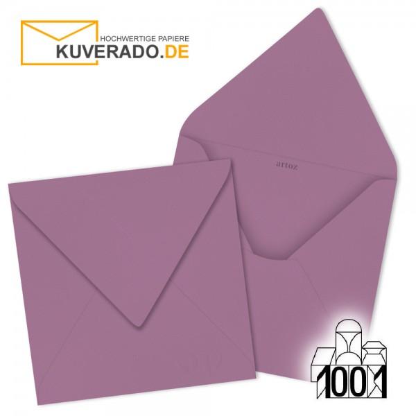 Artoz 1001 Briefumschläge holunder-lila quadratisch 135x135 mm