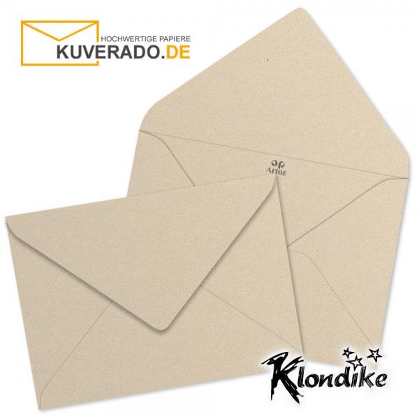 Artoz Klondike Briefumschlag in titan-metallic DIN B6