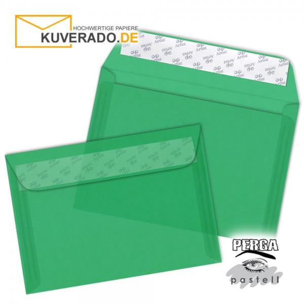 Artoz transparente Briefumschläge tannengrün 135x191 mm