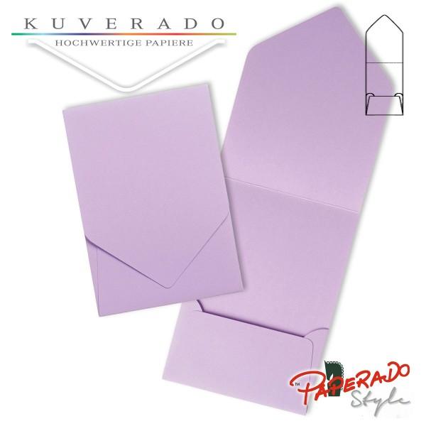 PAPERADO Style - Aufklappkarte in orchidee