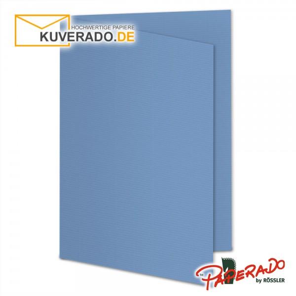 Paperado Karten in blau DIN B6