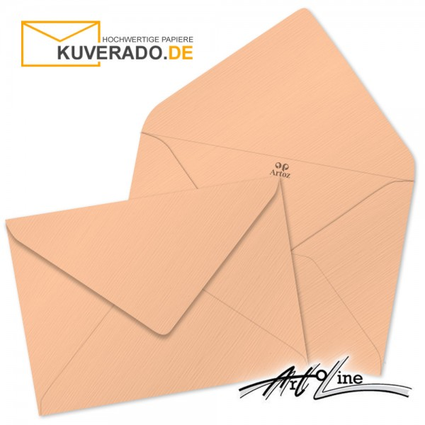 Artoz Artoline Briefumschlag in salm-rosa DIN B6