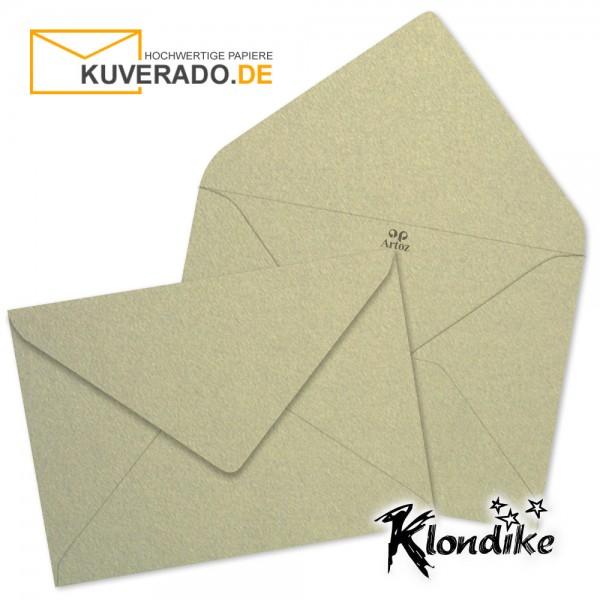 Artoz Klondike Briefumschlag in blattgold-metallic DIN B6
