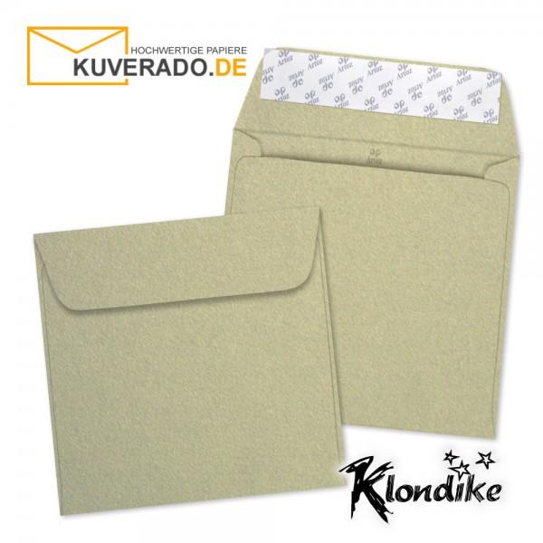 Artoz Klondike Briefumschlag in blattgold-metallic quadratisch
