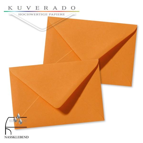 orange Briefumschläge im Format 120 x 180 mm