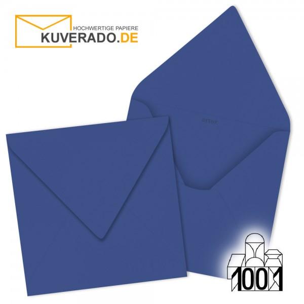 Artoz 1001 Briefumschläge royalblau quadratisch 135x135 mm