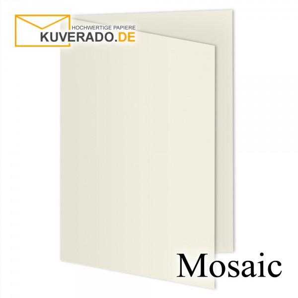 Artoz Mosaic ivory Doppelkarten DIN A6