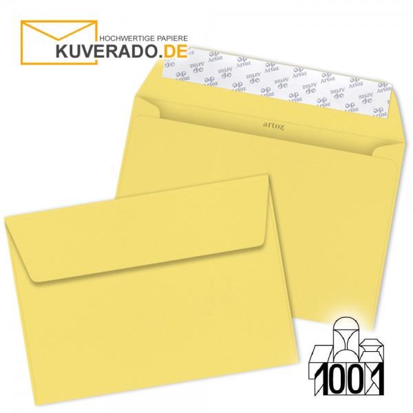 Artoz 1001 Briefumschläge lichtgelb DIN C5